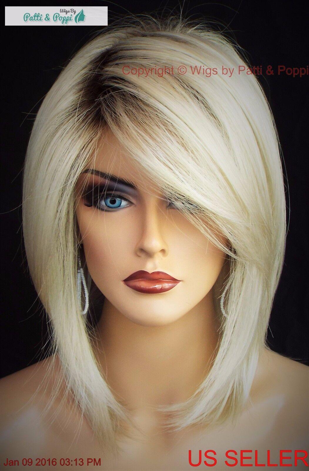 Jackson Noriko Wig Blond Medium Length Stunning Seductive