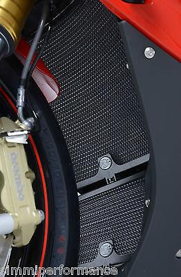R&G RACING RADIATOR & OIL COOLER GUARD BLACK BMW S1000RR 2015 RAD0184BK OCG0005