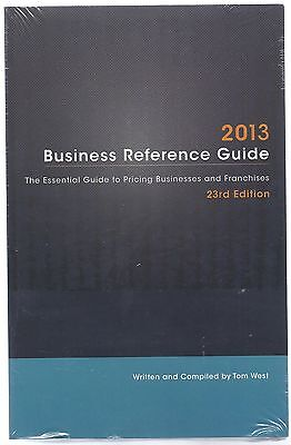 2013 Business Reference Guide By Tom West Business Brokerage Press on Rummage