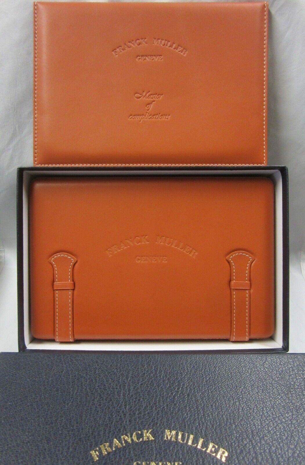 Orange FRANCK MULLER Casablanca Watch Gift Presentation & Di