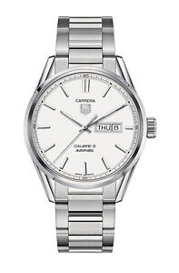 Tag Heuer Carrera Caliber 5 Day Date War201b Ba0723 Wrist Watch For Men