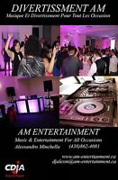 AM Entertainment DJ & Photobooth services