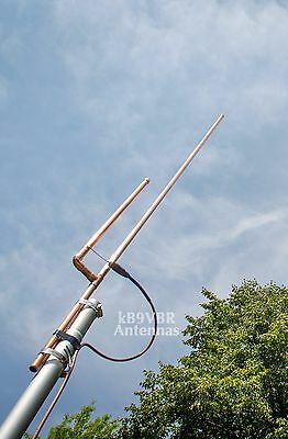 Authentic KB9VBR J-Pole Base Antenna 2 meter dual band amateur ham radio scanner