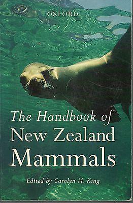 CAROLYN M KING THE HANDBOOK OF NEW ZEALAND MAMMALS REPRINT EDITION PAPERBACK 98