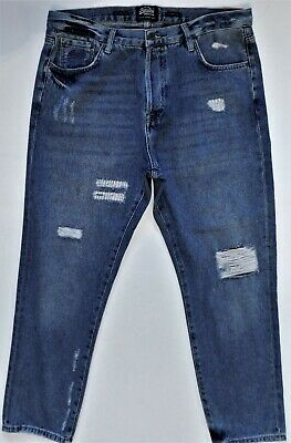 NWT SUPERDRY, the ultimate Japanese style jeans 34 x 32 Oversized, Tapered #1432