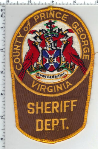 Prince George County Sheriff (Virginia) Uniform Take-Off Shoulder Patch 1980