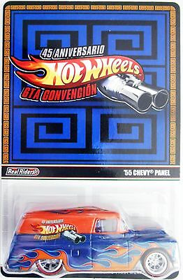 2013 Hot Wheels Mexico Convention 55 Chevy Panel Only 4 000 Made
