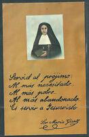 Estampa Antigua De Sor Maria Guoll Andachtsbild Santino Holy Card Santini -  - ebay.es