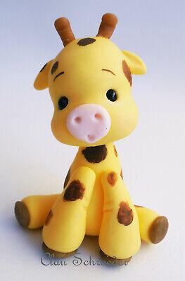 Safari Giraffe Mini Figur CakeTopper Tortenfigur Deko Baby Shower Geburtstag