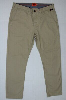 Superdry M 32 X 27 Men's Rookie pants SPD in Sandstorm M70002BNF3