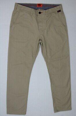Superdry M 32 X 27 Men's Rookie pants SPD in Sandstorm M70002BNF3