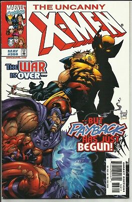 Uncanny X-Men #368-1999 VERY FINE+ 8.5 Kubert /COLOSSUS,NIGHTCRAWLER, WOLVERINE