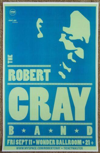 ROBERT CRAY BAND 2009 Gig POSTER Portland Oregon Concert