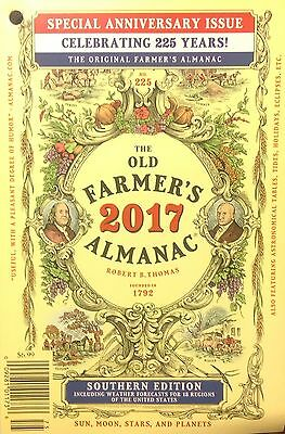 The Old Farmers Almanac 2017 Southern Edition   225Th   Spring Sale Price
