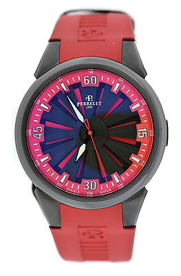Perrelet Turbine Racing Double Rotor Stainless Steel Watch A1047/6