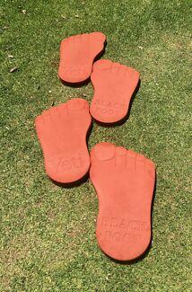 Yeti footprint pavers