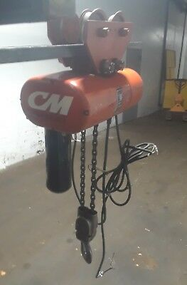 Cm Hoist Model R2 - 2 Ton Electric Chain Hoist With Trolley Series 635