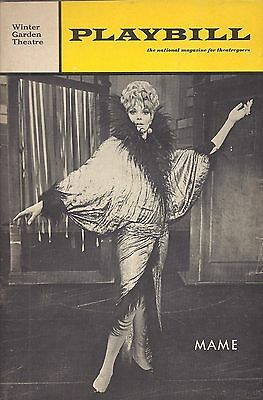 1968 Playbill MAME Janis Paige Helen Gallagher Ed Herlihy