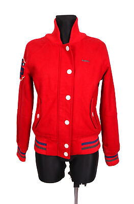 *Superdry Tokyo Womens Jacket Baseball Red M