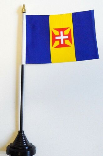 Madeira Portugal Polyester Table Desk Flag