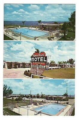 Ryder's Congress Inn Charlotte Harbor Florida Vintage Postcard Oct17