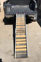 Portable and foldable 8 foot ramp 600 pounds