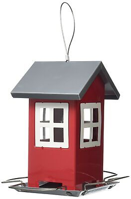 Supa Montrose House Shaped Wild Bird Seed Feeder, Contemporary Feeder That Is...