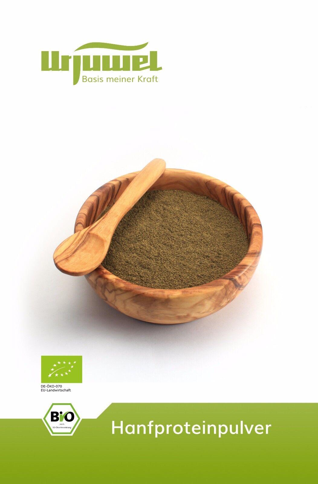 SALE: 5kg BIO Hanfprotein aus dem Allgäu: 42% Protein ○ kaltgepresst ○ vegan