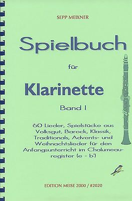 Noten: Spielbuch für Klarinette Band 1
