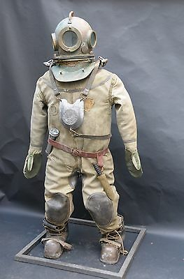 Rare Original Diving Helmet,suit,boots(cascue,escafandra) complete