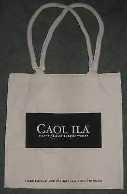 CAOL ILA SINGLE MALT SCOTCH WHISKY DISTILLERY TOTE BAG / BOTTLE (Scotch Whisky Distilleries)