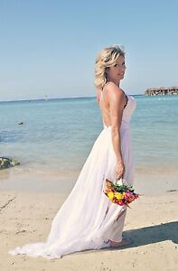 Summer Beach Style Wedding Dress