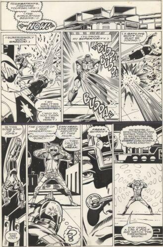 IRON MAN #255 PAGE 2! Herb Trimpe! Iron Man! Crimson Dynamo!