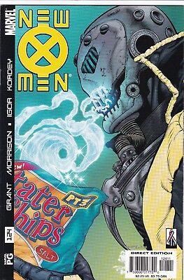 New X Men 124 N Mint 1St Plutonia Appearance Xorn Marvel Comics Grant Morrison