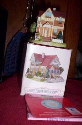 Liberty Falls Ladies Temperance Society Americana Collection House in box 1997