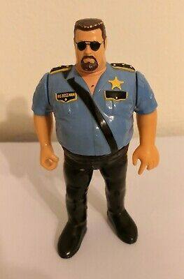 THE BIG BOSS MAN SERIE 1 1990 WWF WWE ACTION FIGURE WRESTLING RETRO RARO HASBRO