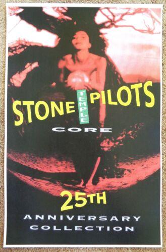 STONE TEMPLE PILOTS Album POSTER Core 2017 ReRelease 25th Anniversary Collection