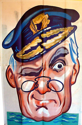 WINDBAG THE SAILOR 1936 Will Hay, Moore Marriott, Graham Moffatt UK 40x60 - Sailor Hay