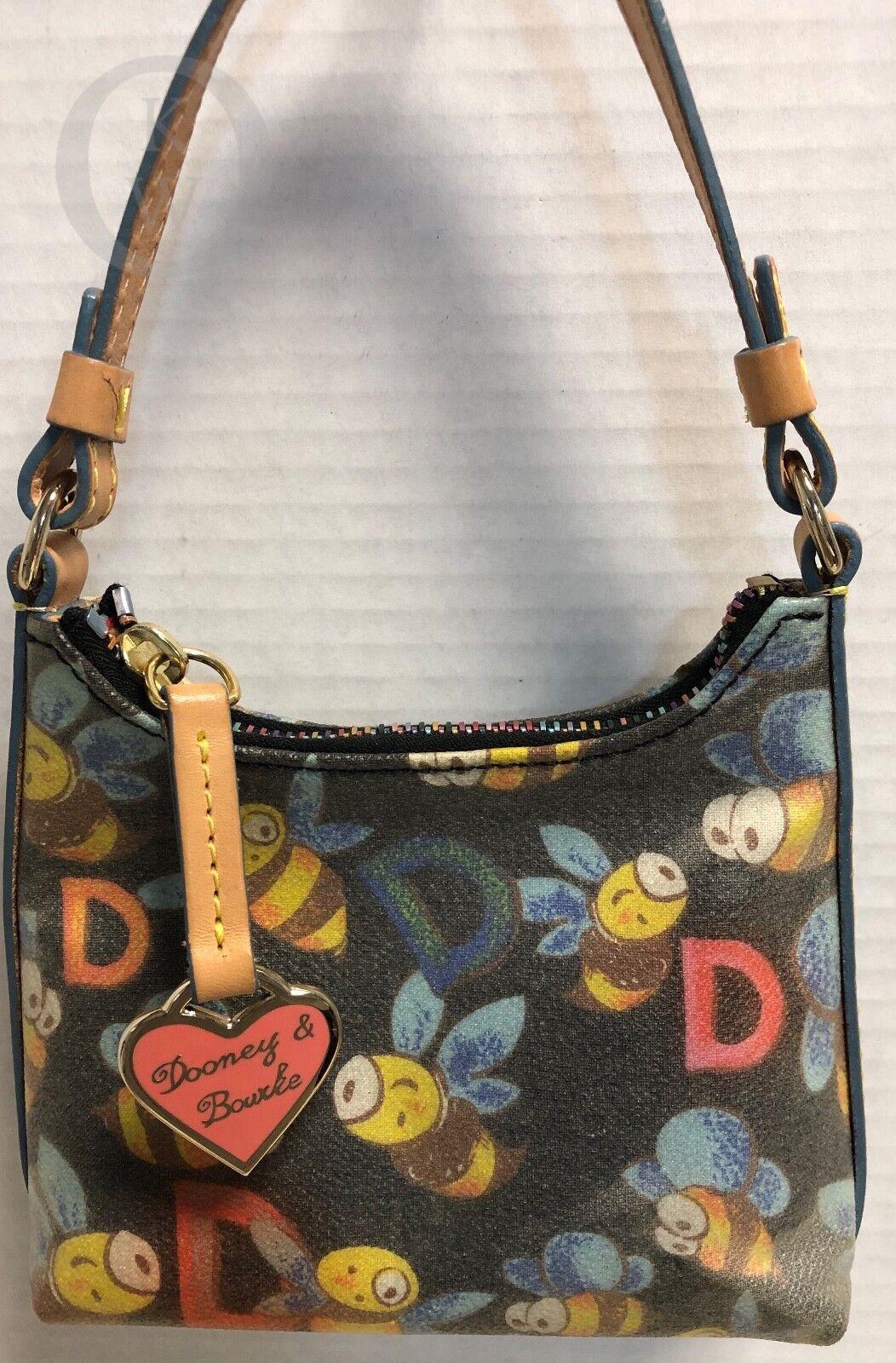 ~Dooney & Bourke*Black BEE*Tiny*Handbag Purse* 190