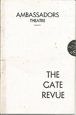 Ambassadors Theatre  London   1939  The Gate Revue  Hermione Gingold   Programme