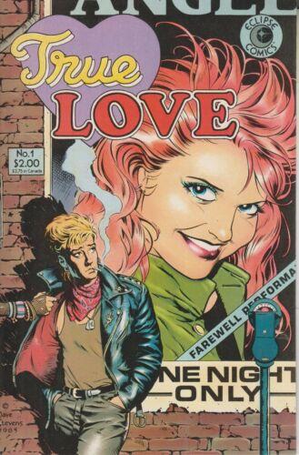 Eclipse Comics No. 1 True Love  (Comic: True Love)  1986
