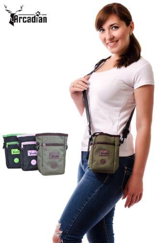 The Premium Dog Treat Bag by Arcadian. Training Pouch. Shoulder or Waist Belt