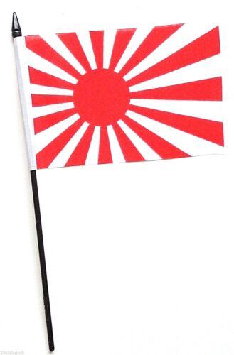 Japan Rising Sun Navy Ensign Small Hand Waving Flag