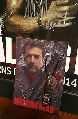 Negan Lucille Bat Prop/Replica ***Necklace*** ~~The Walking Dead~~***NEW***