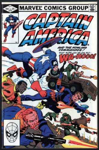 Captain America (1968) #273 VF/NM (9.0) Howling Commandos