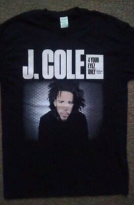 J Cole UK tour shirt 2017. Size medium.