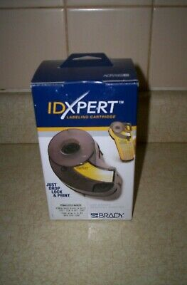 Brady Idxpert XPS-375-CONT Labeling Cartridge Permasleeve Black on White (Cont Labels)