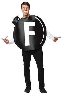 The Big F Bomb Polyester Adult Costume Printed Tunic Halloween Rasta Imposta