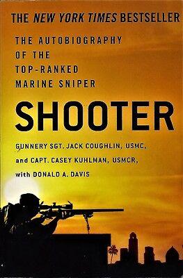 SHOOTER ~ COUGHLIN, JACK/ KUHLMAN, CASEY/ DAVIS, DON ~ NEW LARGE PAPERBACK BOOK