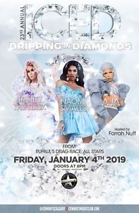 2 Iced Dripping in Diamonds tickets